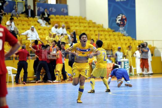 タイ代表の決勝ゴール
