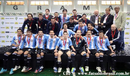 南米選手権2012を制したフットサルアルゼンチン代表