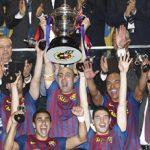 スペイン国王杯を連覇したFCバルセロナ・アウルスポルト