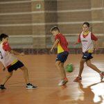 スペインの町クラブ「CDFSセゴルベ」の下部組織の練習の様子