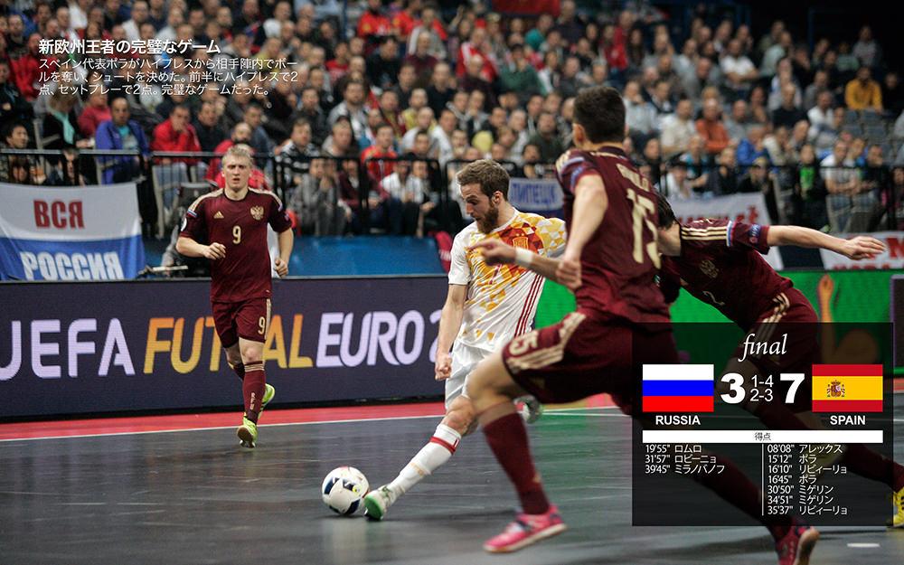 決勝ロシアvsスペイン「新欧州王者の完璧なゲーム」