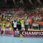 ワールドカップ連覇中のブラジル代表。通算5回の優勝最多国