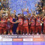 エルポソが、今シーズン初めてのタイトルマッチ、スペイン・スーパーカップを制覇した。写真LNFS/www.lnfs.es